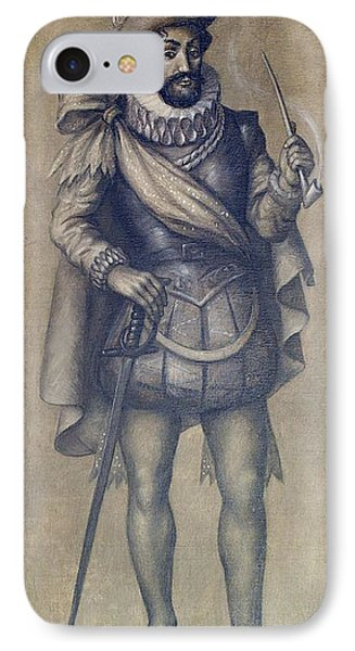 Walter Raleigh, English Explorer Phone Case by Photo Researchers