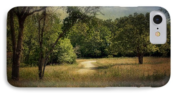Wandering Path I Phone Case by Tamyra Ayles