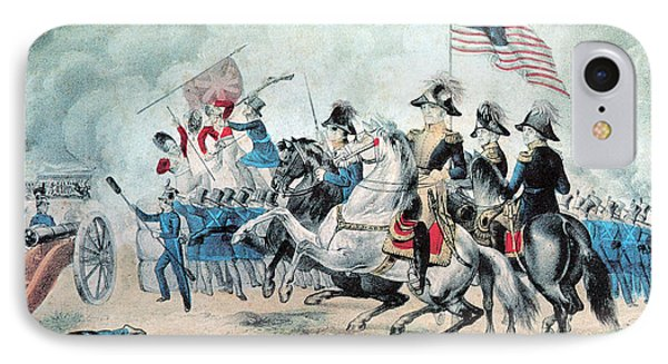 War Of 1812 Battle Of New Orleans 1815 Phone Case by Photo Researchers