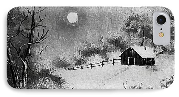 Warm Day  B And W Phone Case by Barbara Griffin