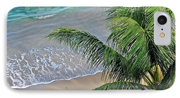IPhone Case featuring the photograph Warm Maui Waters Lapping Ashore by Kirsten Giving