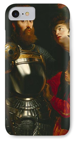 Warrior  IPhone Case by Peter Paul Rubens