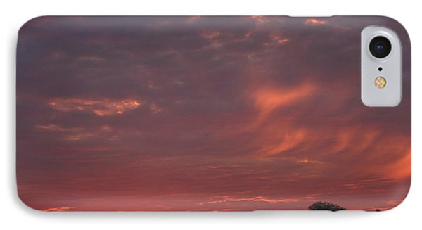 Warwickshire Sunset IPhone Case by Linsey Williams