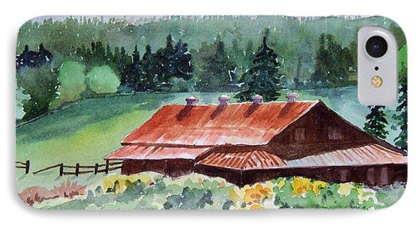Washington Barn IPhone Case