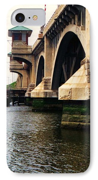 Washington Bridge IPhone Case by John Scates