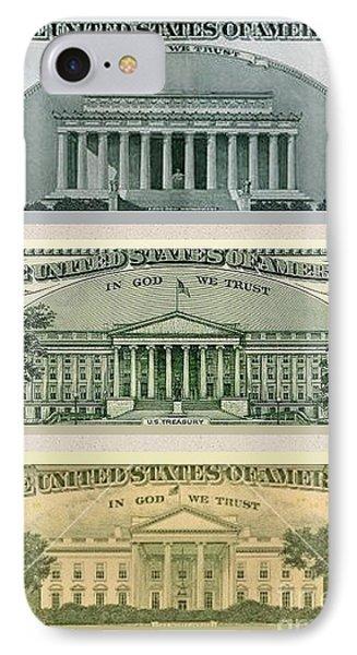 Washington D.c. Landmarks Phone Case by Charles Robinson