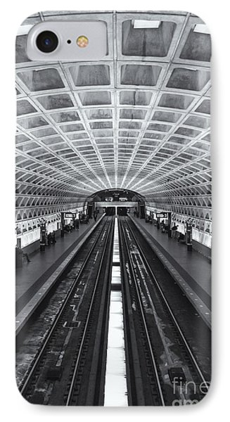 Washington Dc Metro Station II IPhone Case by Clarence Holmes