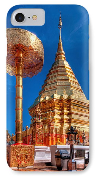 Wat Phrathat Doi Suthep Phone Case by Adrian Evans
