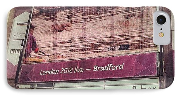 Watching #london2012 In #bradford - Na IPhone Case