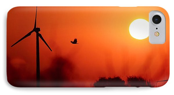 Watching The Sunrise IPhone Case by Elizabeth Budd