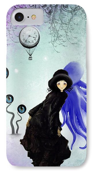 Watching You IPhone Case by Charlene Zatloukal