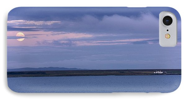 Water And Dark Clouds Phone Case by John Short