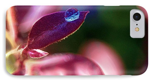 Water Drop Phone Case by Judi Bagwell