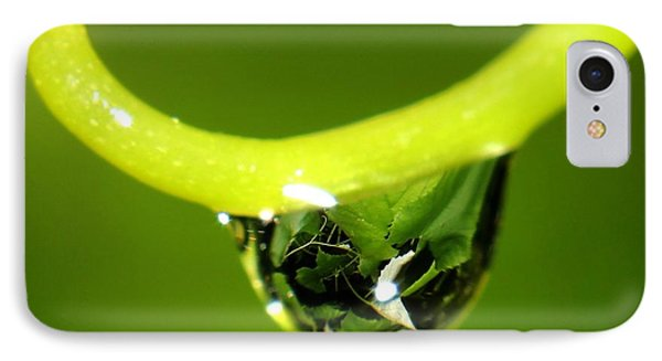 Water Droplet On Grapevine IPhone Case
