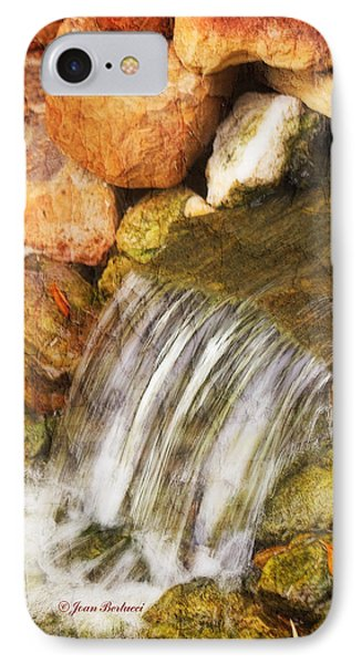 IPhone Case featuring the photograph Water Fall by Joan Bertucci