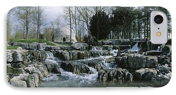 Water Flowing In A Garden, St. Fiachras Phone Case by The Irish Image Collection