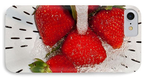 IPhone Case featuring the photograph Water For Strawberries by David Pantuso