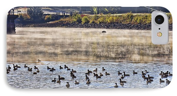 Water Fowl At Lake Wilhelmina Arkansas Phone Case by Douglas Barnard