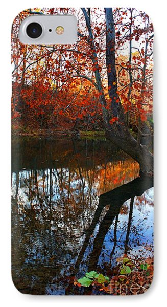 Water In Fall IPhone Case