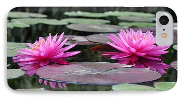 Water Lilies Phone Case by Bill Cannon