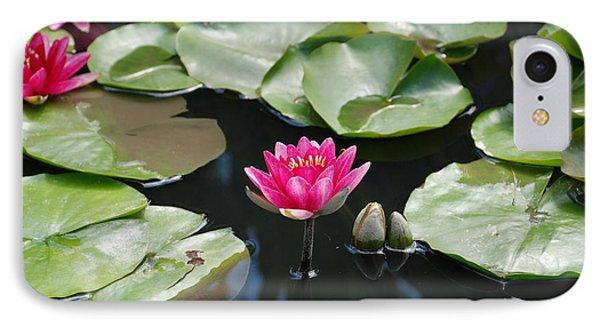 Water Lilies Phone Case by Jennifer Ancker