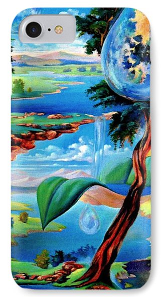 Water Planet Phone Case by Leomariano artist BRASIL