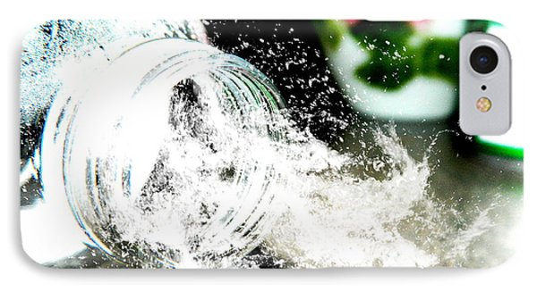 IPhone Case featuring the photograph Water Spill by Ester  Rogers