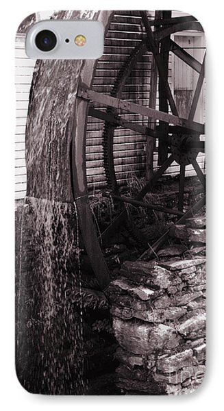 Water Wheel Old Mill Cherokee North Carolina  Phone Case by Susanne Van Hulst