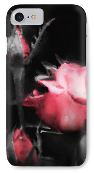 Watercolor Rose IPhone Case by Michelle Joseph-Long