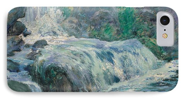 Waterfall Phone Case by John Henry Twachman