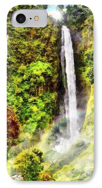 Waterfall Phone Case by Vidka Art