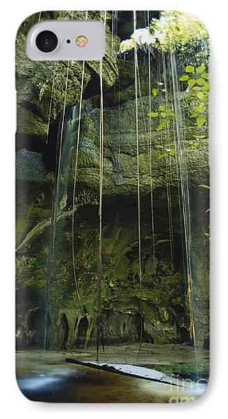 Waterfalls  Phone Case by Jacques Jangoux and Photo Researchers