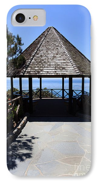 Waterfront Gazebo IPhone Case by Paul Velgos