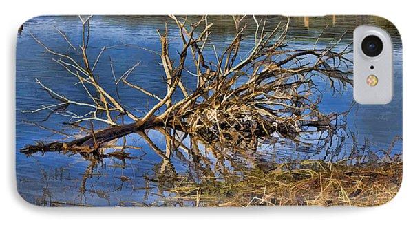Waterlogged Tree Phone Case by Douglas Barnard
