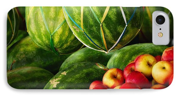 Watermellons And Apples Phone Case by Elaine Manley