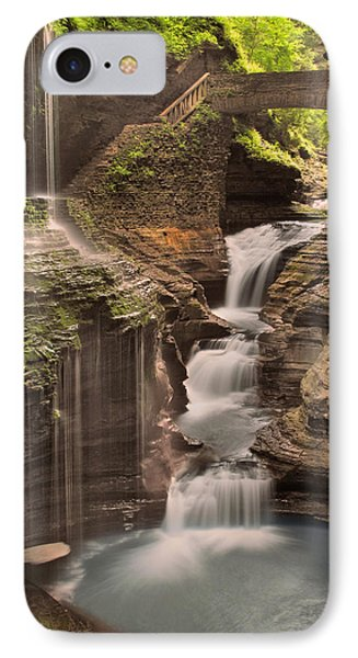 IPhone Case featuring the photograph Watkins Glen Gorge by Cindy Haggerty