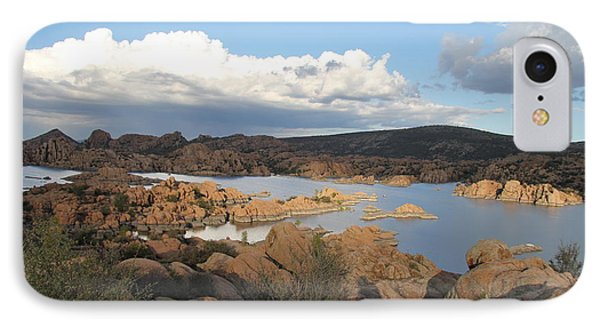 Watson Lake 2 IPhone Case by Diane Greco-Lesser