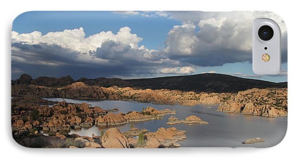Watson Lake 3  IPhone Case by Diane Greco-Lesser
