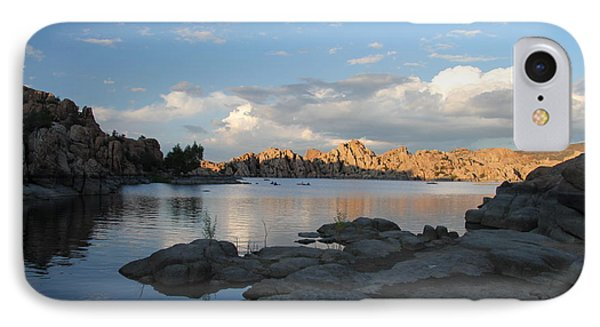 Watson Lake 5  IPhone Case by Diane Greco-Lesser