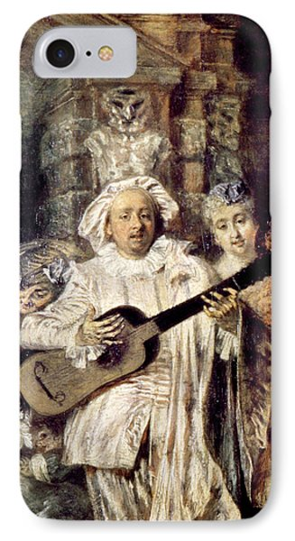 Watteau: Gilles & Family Phone Case by Granger