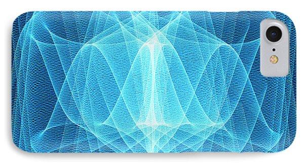 Wave Patterns Phone Case by Pasieka