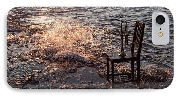 Wave Splash 2 Phone Case by Ron Smith