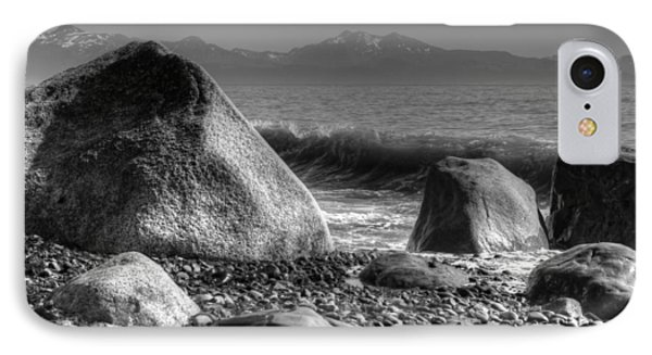 IPhone Case featuring the photograph Waves At Diamond Beach by Michele Cornelius