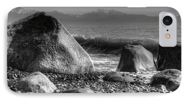 Waves At Diamond Beach IPhone Case by Michele Cornelius