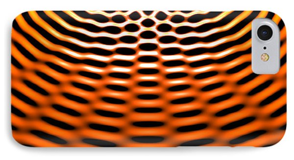 Waves Superpositioning 4 IPhone Case by Russell Kightley