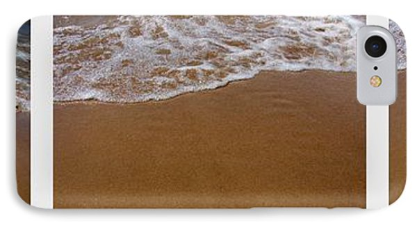 Waves Triptych Phone Case by Michelle Calkins