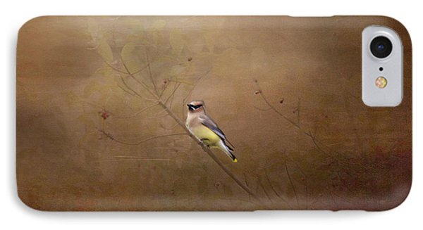 Waxwing Spring Visit Phone Case by Cris Hayes