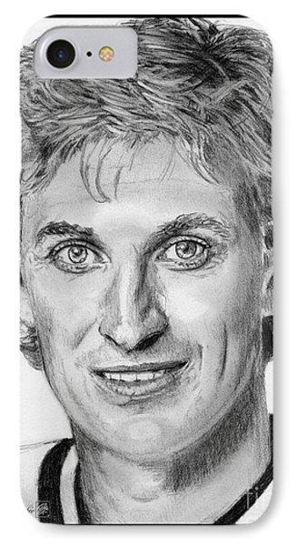 Wayne Gretzky In 1992 Phone Case by J McCombie