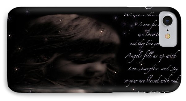 We All Have Angels Phone Case by Debra     Vatalaro