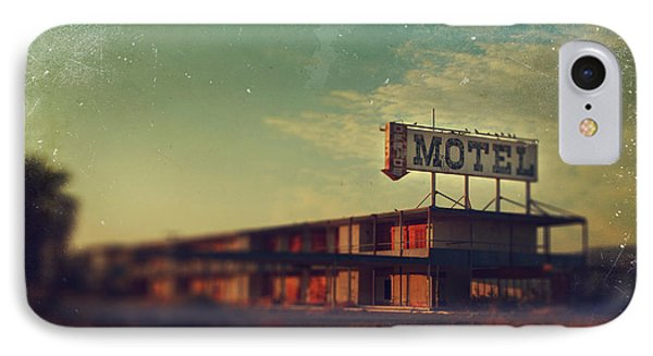 We Met At The Old Motel IPhone Case by Laurie Search